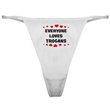 Loves: Trogans Classic Thong