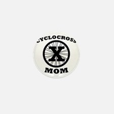 Cyclocross Mom Mini Button