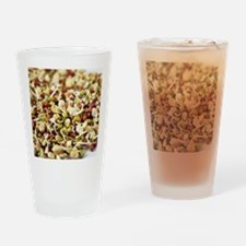 Sprouting beans Drinking Glass