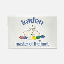 Easter Egg Hunt - Kaden Rectangle Magnet