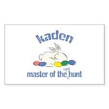 Easter Egg Hunt - Kaden Rectangle Decal