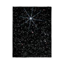 Star Vega in the constellation of Lyra Twin Duvet