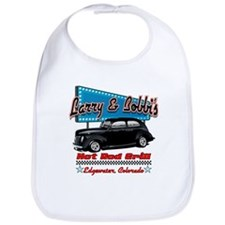 Larry and Bobbi's Hot Rod Gri Bib