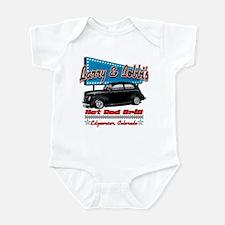 Larry and Bobbi's Hot Rod Gri Infant Bodysuit