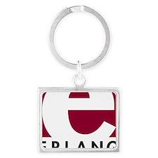 Erlang Logo Landscape Keychain