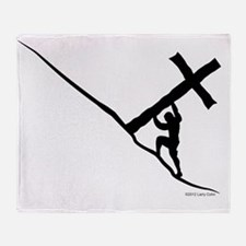 Sisyphus inspired depiction of Luke  Throw Blanket
