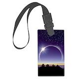Solar eclipse Luggage Tags