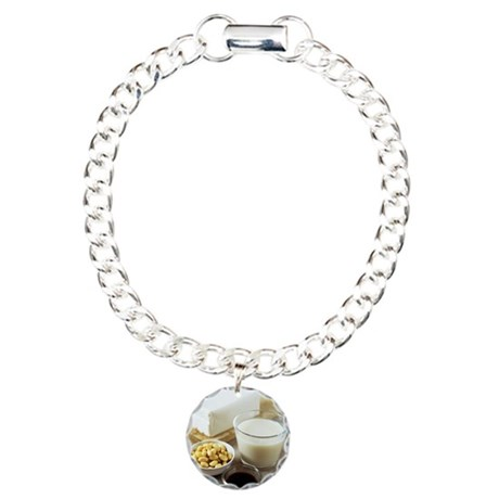 Soya products Charm Bracelet, One Charm