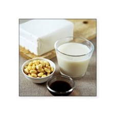 """Soya products Square Sticker 3"""" x 3"""""""