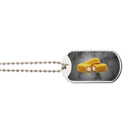 Remember The Twinkies Dog Tags