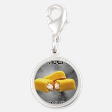 Remember The Twinkies Silver Round Charm