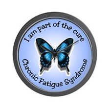 CFS Awareness Wall Clock