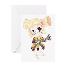 Chibi Jovena Greeting Card