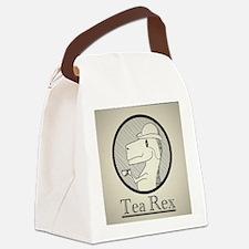 Tea Rex Canvas Lunch Bag