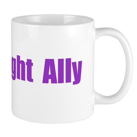 Straight Ally Car Magnet Mug