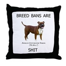 bullshit! Throw Pillow