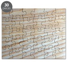 Chic Unique Wood Grain Designer Puzzle