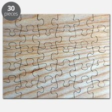 Chic Unique Wood Grain Designer Puzzle