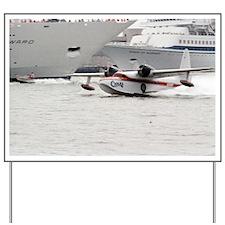 Chalks Airline Seaplane Leaving Miami Yard Sign