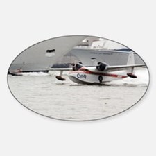 Chalks Airline Seaplane Leaving Mia Decal