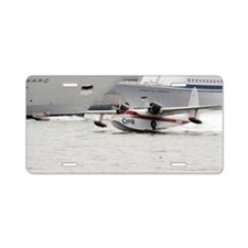 Chalks Airline Seaplane Lea Aluminum License Plate
