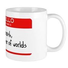Hello my name is death Mug