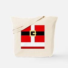 Santa Suit Tote Bag