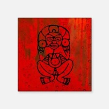 "Atabey, Taino Goddess Square Sticker 3"" x 3"""