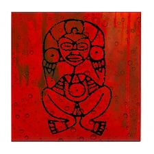 Atabey, Taino Goddess Tile Coaster