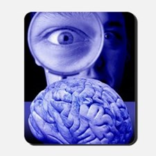 Studying the brain, conceptual image Mousepad
