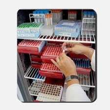 Storing genetic material Mousepad