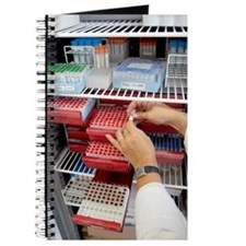 Storing genetic material Journal