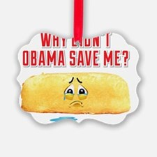 Why Didnt Obama Save Me? Ornament