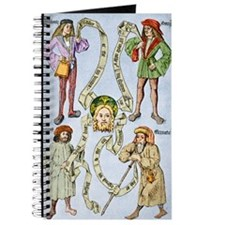 The four humours, 16th century artwork Journal