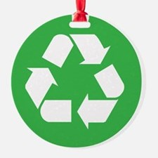 recycle Round Ornament