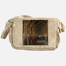 001-Under Pawleys Pier Messenger Bag