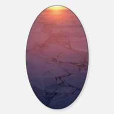 Sunset in Antarctica Decal