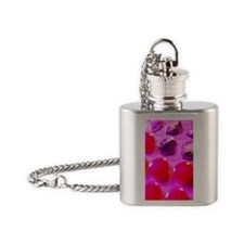 Throat lozenges Flask Necklace