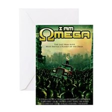 I Am Omega Poster Greeting Card