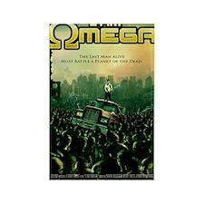 I Am Omega Poster Rectangle Magnet