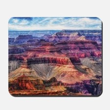 red grand canyon Mousepad