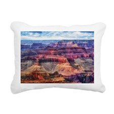 red grand canyon Rectangular Canvas Pillow