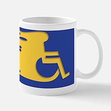 wheelchair-flames-CRD Mug