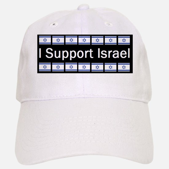 israel i supportd Baseball Baseball Cap