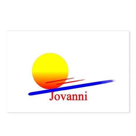 Jovanni Postcards (Package of 8)