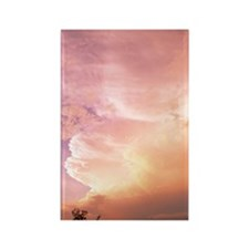 Sunset clouds Rectangle Magnet
