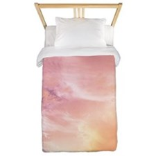 Sunset clouds Twin Duvet