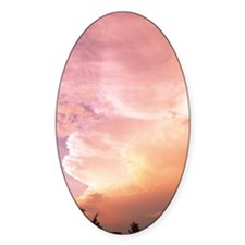 Sunset clouds Decal