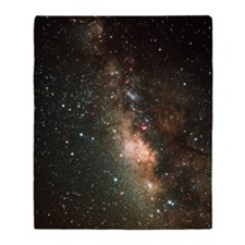 The Milky Way Throw Blanket