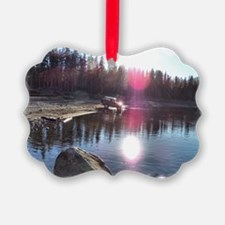 Cruising the Mountains Ornament